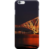 Forth Rail Bridge UNESCO Site iPhone Case/Skin