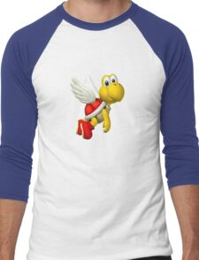 Koopa Troopa - Mario Men's Baseball ¾ T-Shirt