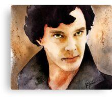 Sherlock 01 Canvas Print