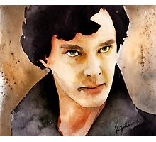 Sherlock 01 Photographic Print