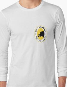 TUSKER LAGER BEER KENYA T SHIRT (SMALL LOGO) Long Sleeve T-Shirt