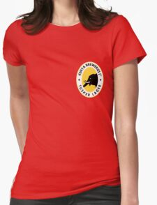 TUSKER LAGER BEER KENYA T SHIRT (SMALL LOGO) Womens Fitted T-Shirt