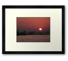 Fine Art photograph seaside Izmir Turkey  Framed Print