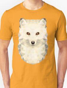 Low-poly Geometric Arctic Fox Unisex T-Shirt