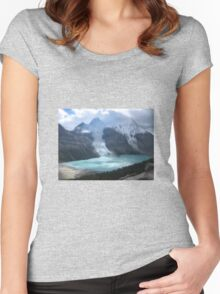 Canadian Landscapes - Mountains Women's Fitted Scoop T-Shirt