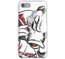 Charcoal and Oil - Devil Donald Duck iPhone Case/Skin