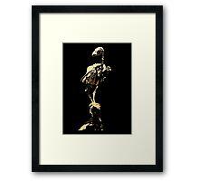 bird skeleton, bird anatomy Framed Print