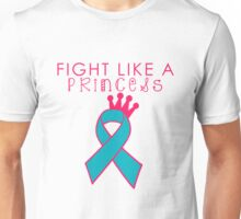 Fight Like a Princess - Teal Unisex T-Shirt