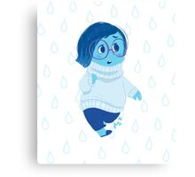Inside Out: Sadness Canvas Print