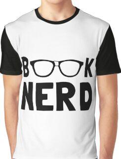 Book Nerd Graphic T-Shirt