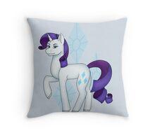 Rarity Throw Pillow