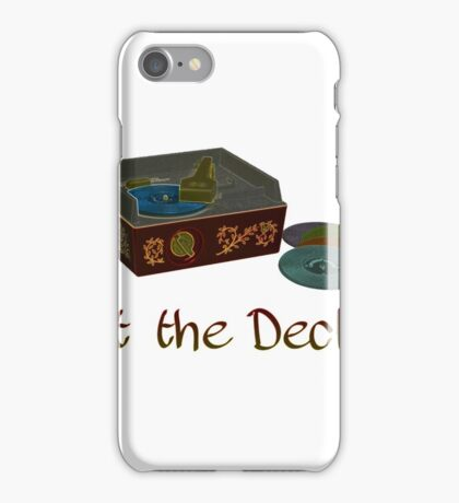 Hit the Decks - Fisher-Price Turntable iPhone Case/Skin