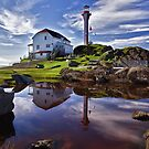 Cape Forchu Lightstation - Nova Scotia by Kathy Weaver