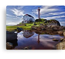 Cape Forchu Lightstation - Nova Scotia Canvas Print
