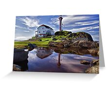 Cape Forchu Lightstation - Nova Scotia Greeting Card