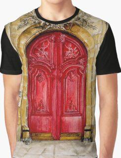 door collection: red door Graphic T-Shirt