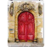 door collection: red door iPad Case/Skin