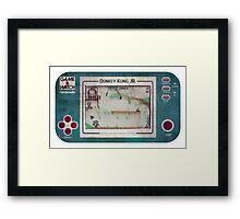 Game & Watch - Donkey Kong Jr Framed Print