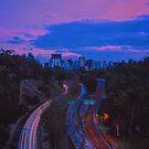 Sunset of San Diego by Santamariaa