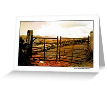 Oul Kerry Gates Greeting Card