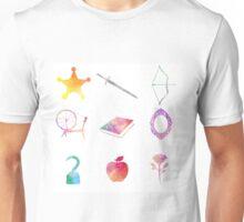 Water colored Symbols Unisex T-Shirt