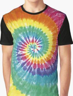 Rainbow Tie Dye Graphic T-Shirt