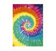 Rainbow Tie Dye Art Print