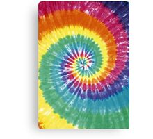 Rainbow Tie Dye Canvas Print