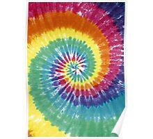 Rainbow Tie Dye Poster