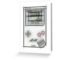 Game Boy Tetris Greeting Card