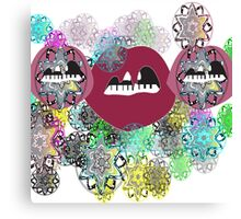 Mandala Mouth Canvas Print