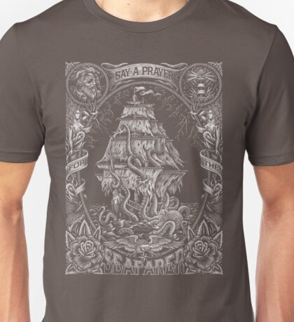 Prayer for the Seafarer Unisex T-Shirt