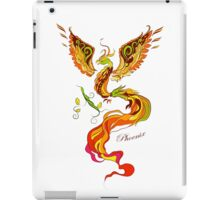 Phoenix vector illustartion in russian tradition style iPad Case/Skin