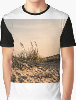 Coronado Sand Dunes at Dusk Graphic T-Shirt