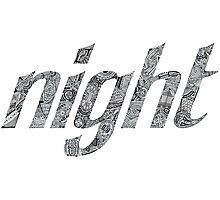 Night Doodle Photographic Print