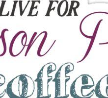 Lesson Plans & Coffee Sticker