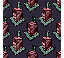 Urban seamless pattern Photographic Print