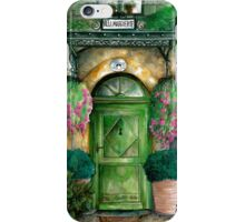 door collection: green door iPhone Case/Skin