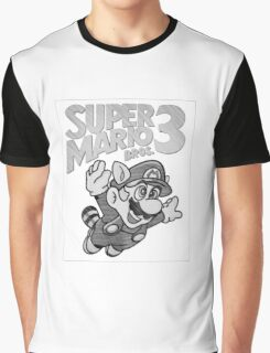 Super Mario Bros. 3 Nintendo Graphic T-Shirt