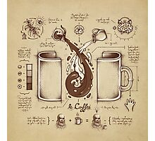 Le Coffee (Fluid of Creativity) Photographic Print