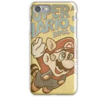 Super Mario Bros. 3 Nintendo iPhone Case/Skin