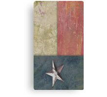 Paper Flag - Texas Canvas Print