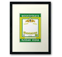 Russian Vodka Framed Print