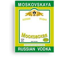 Russian Vodka Canvas Print