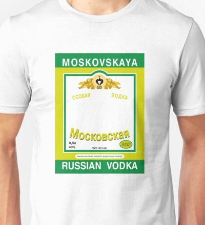 Russian Vodka Unisex T-Shirt
