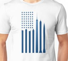 NYC flag USA Unisex T-Shirt