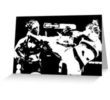 Holly Holms vs. Ronda Rousey Greeting Card