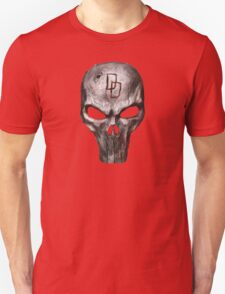 The Punisher with Daredevil inscription T-Shirt