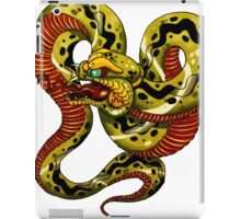 Snake tattoo iPad Case/Skin