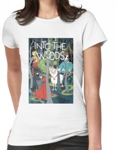 woods Womens Fitted T-Shirt